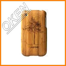 2016 Oken Unique Natural bamboo Top Sale Cell Phone Case Cover, Wholesale Case funny cellphone case