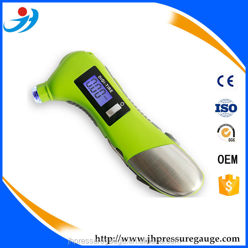 Digital Tire Gauge for CAuto Emergency Tool with Digi Tire Gauge,ar Emergency Tool,Portable Mini LCD digital tire pressure gauge