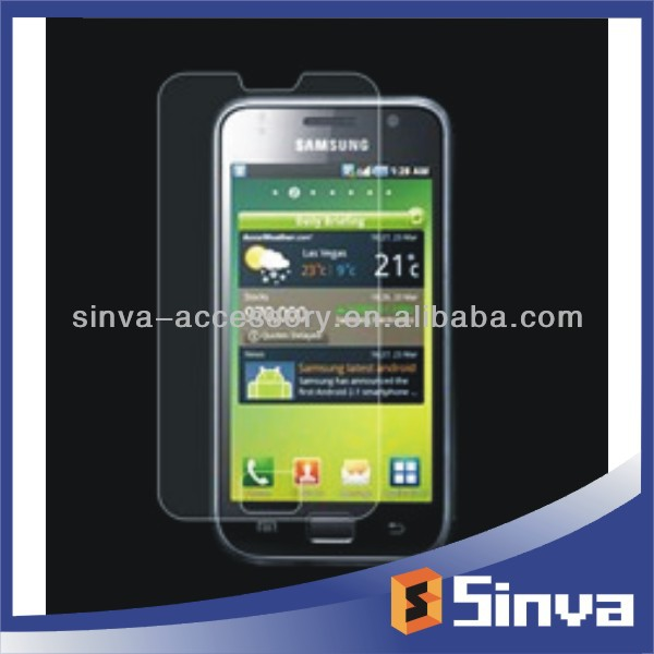 High quality ultra clear professional screen guard for sumsung galaxy s4 S8000 with factory price