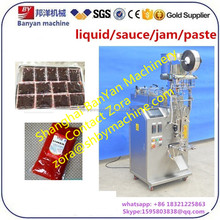 Automatic Meat shrimp fish sea food Tahini sauce / paste filling packing Machine 5g to 100g Shanghai supplier