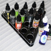 2018 new products e cigarette liquid display rack 35mm hold high quality for retail store 30ml e-juice bottles stands