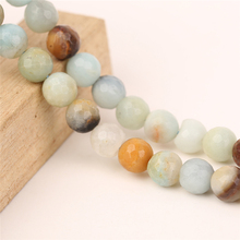 Yiwu Market Products Loose Natural Gemstones Amazonite Colorful Faceted Beads