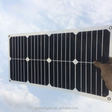 25w flexible solar panel for charger SunPower Cell with MC4 Connectors