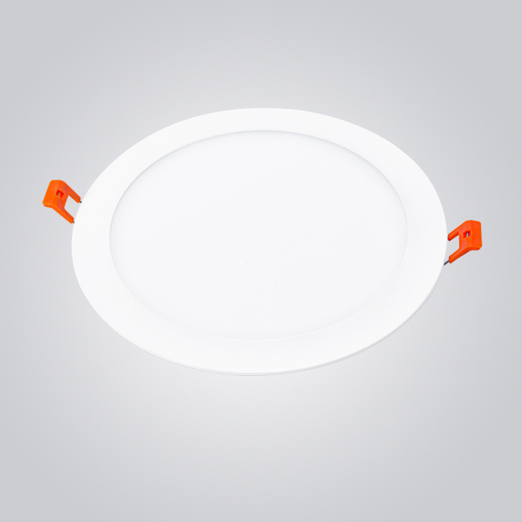 Long life RoHS energy saving and high lumen 12 w round led panel light