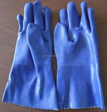 waterproof pvc Dotted Cheap Safety Work Gloves Cotton Knitted inside