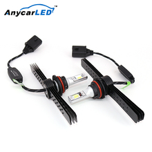 Anycarled Supply High Power 9004 Hb1 9007 Hb5 Car Headlamp Auto Lamp Auto Parts For Optra Headlight