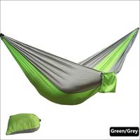 одноцветное цвет нейлон парашютом гамак кемпинг выживания садовые качели отдыха и путешествий мебель ЗПБ-ШХ15