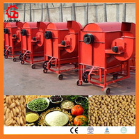 Electrical paddy rice thresher for farmers