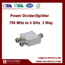 Power Divider/Splitter 700 MHz to 3 GHz 2 Way