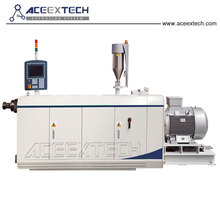 best performance polyethylene corrugated pipe extruder line with production speed synchronization