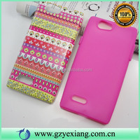 2 In 1 PC Silicone Combo Covers For ZTE Blade L2 Customized Back Skin
