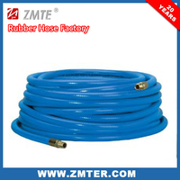 Yellow color textile braid / tire cord Compressed air hose - 300psi