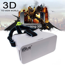 Free shipping !!! box style virtual reality glasses low price