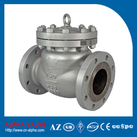 BS1868 A216 WCB Flanged Swing Check Valve
