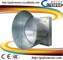 Galvanized industrial exhaust fans