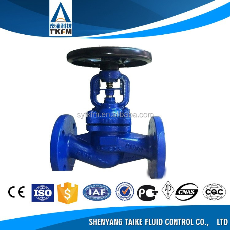 Made in China angle bronze hose pneumatic globe valve dn20 with good price