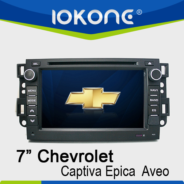 Reverse camera option Car GPS navigator for Chevrolet Captiva/Epica/Aveo 2008