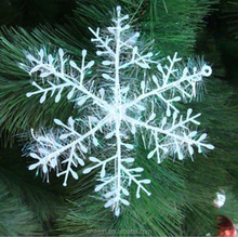 "Cheap Wholesale 43"" Christmas 3-D Snowflake Ornaments Hanging Party Decoration Whitle Color for Christmas Decoration"