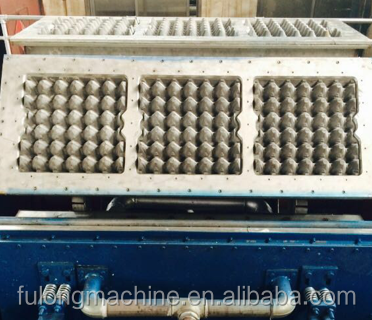 pulp molded egg tray machine2017
