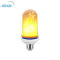 LED Creative Lighting Bulbs Super Warm White Flame Light Burning Effect Decorative Fire Flickering Simulation Bulbs
