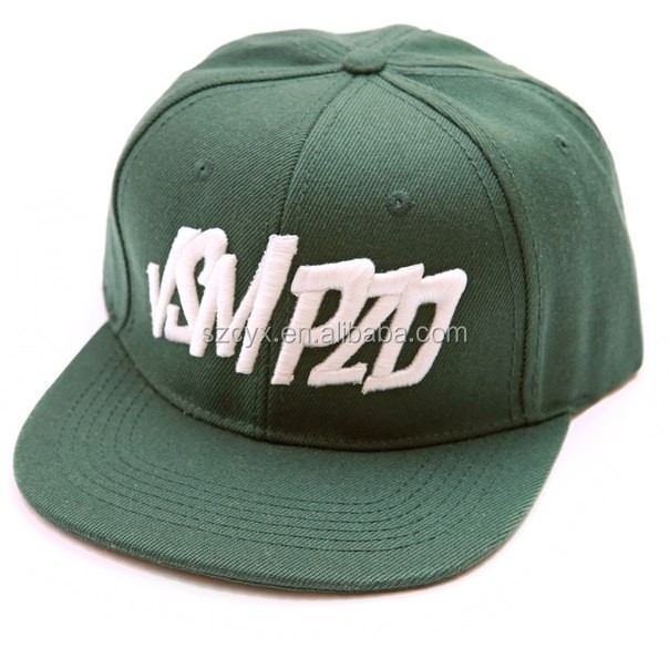 snapback 3d embroidery custom logo caps hats