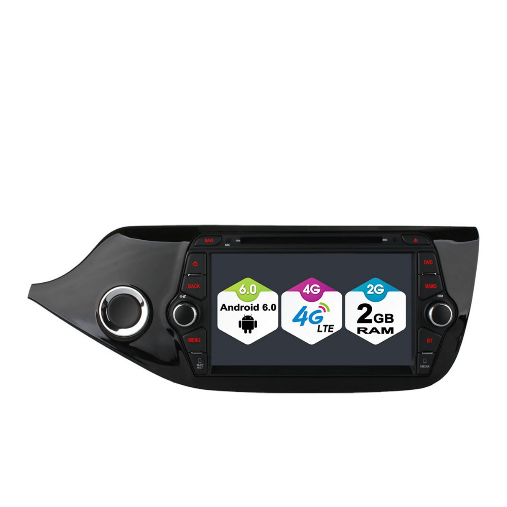 For K/ia C/EED 2013-2015 Android 6.0 Wifi 4G GPS Radio Stereo Car DVD Player GPS support rear camera touch screen