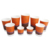 8oz double wall takeway coffee paper cup disposable paper cup