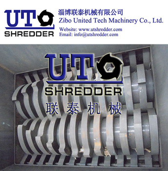 shredder blade / shredder knife / double shaft shredder