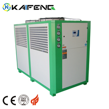 Air Cooled Scroll Water Ac Chiler Conditioner Chilled 10 Ton Of Chiller