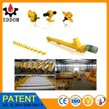 Small capacity pellet screw conveyor, auger pellet inclined screw conveyor for silo cement