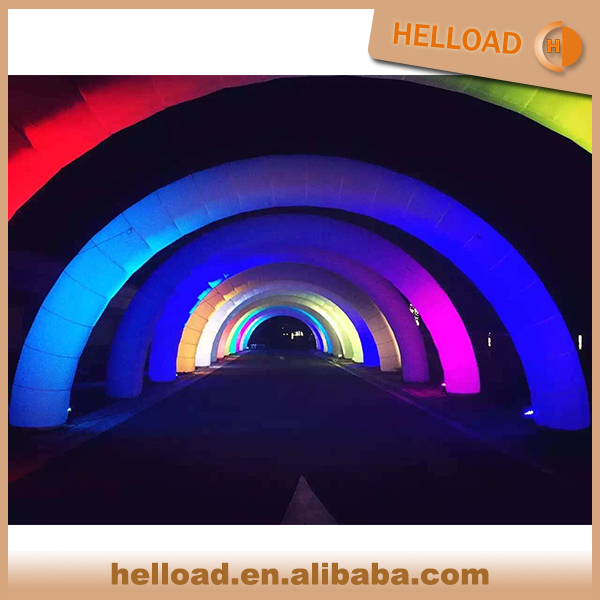 Glow Inflatable Arch Lighted with led for Promotional and Advertising