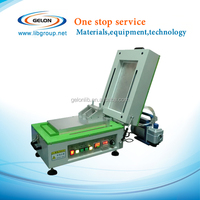 vacuum coating machine With Cover Heater,Vacuum pump&Micrometer film applicator for lithium battery lab
