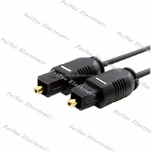 2.2mm Digital Optical Audio Cable Slim Toslink to Toslink Plastic fiber Patch Cable