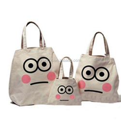 fashion custom printing natural cotton road bag/ canvas drawstring backpack bag for girls/ luxury cotton bag