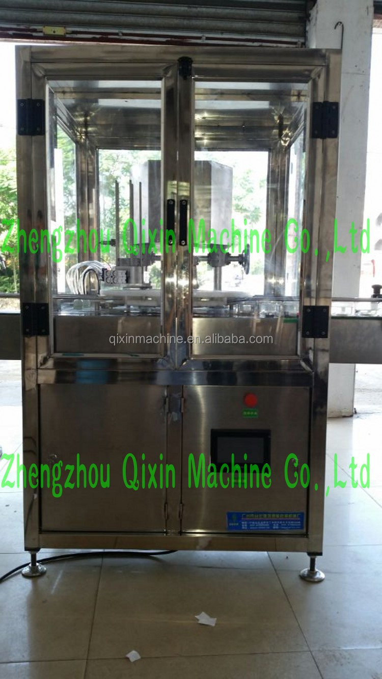 Automatic tin cans sealing machine beverage can seamer machine