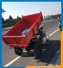 On-time delivery garden mini dumper electric dump tricycle for cargo