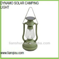 Multi-function outdoor solar cranking camping lantern, led hanging light