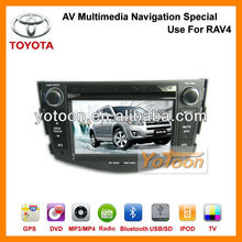 Car DVD Player GPS For Toyota RAV4 / Manufacture 7 Inch GPS Car DVD System AV Multimedia Navigation Special Use for Toyota RAV4