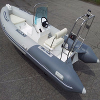 CE Certificate Cheap Price Rigid Hull Fiberglass Inflatable Boat