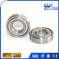 Stainless steel deep groove roller ball S6206ZZ bearing with 30*62*16mm