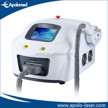 Economic Apolomed ipl rf nd yag laser hair removal machine facial rejuvenation