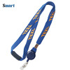 High Quality Elastic Tubular Single Custom Branded Card Holder Lanyard Free Sample