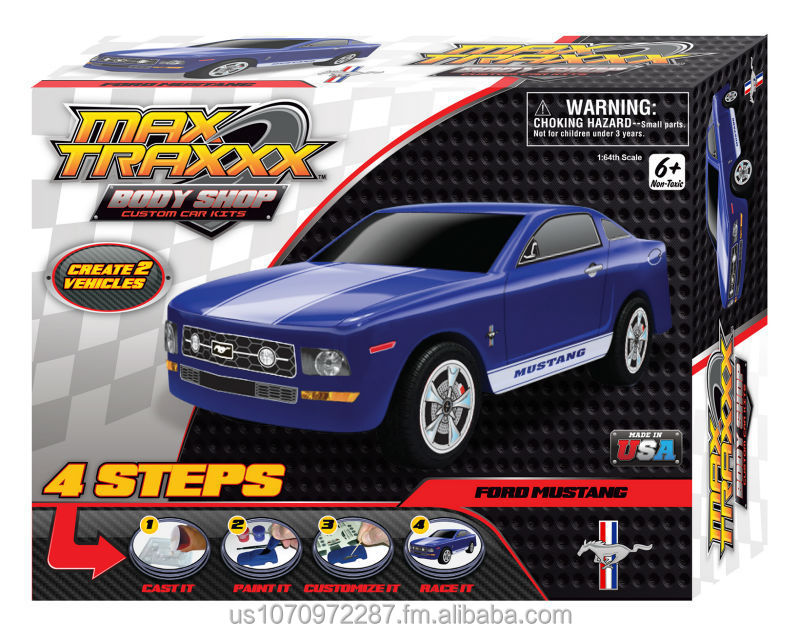 Body Shop Car Casting Kit - Mustang