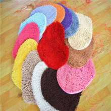washable microfiber rubber backed non slip bathroom indoor sports carpet