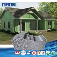 OBON light steel luxury prefabricated house for france