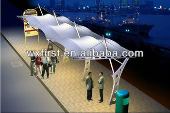 PTFE coated fiberglass fabric Architecture Membrane