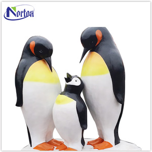 customized life size animal resin penguin statue NT-FS148D