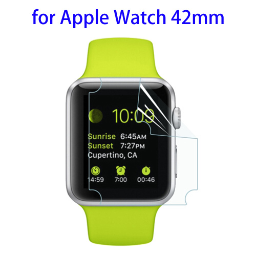 China Supplier 0.1mm TPU screen protector for apple watch
