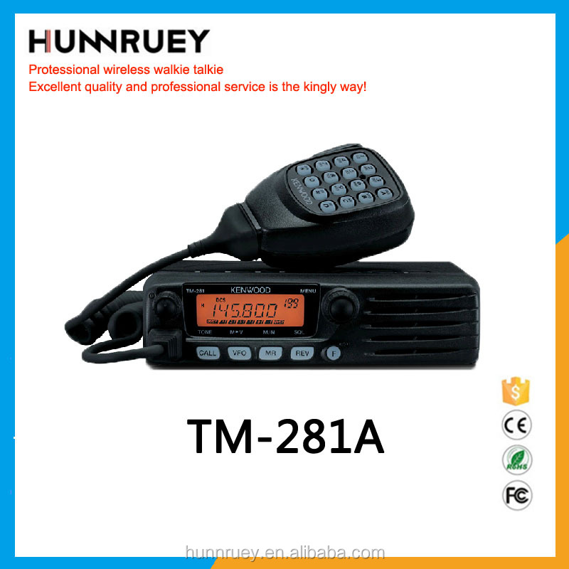 High Quality High Technology Walkie Talkie 65W Car Radio For Sale