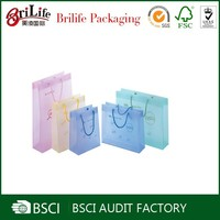 Wholesale Fashion Elegant plastic gift bag